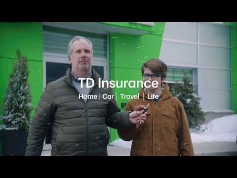 "TD Insurance Auto Centres – ""Roof Avalanche"""