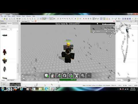 how to add a humanoid on roblox