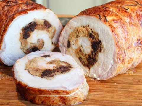 How To Stuff A Pork Loin - Rolled Stuffed Pork Loin Roast Wrapped In Caul Fat