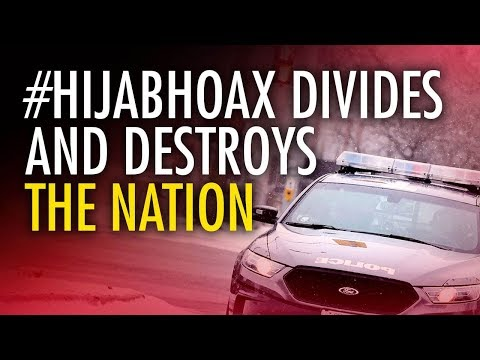 HijabHoax fake hate crime warrants maximum penalty