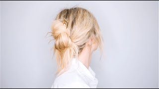 HOW TO DO THE MESSY UPDO