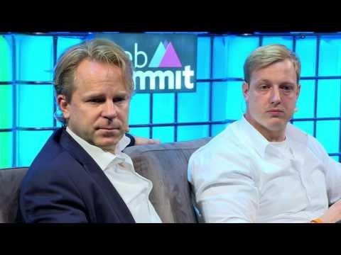 World war media - Cait O'Riordan, Justin Smith, Till Faida and Michael Hirschorn at Web Summit 2016