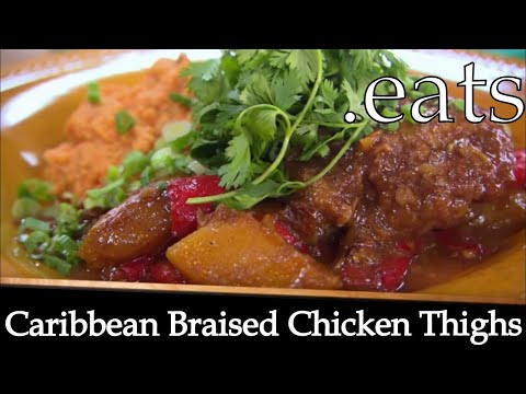 Caribbean Braised Chicken Thighs – Chef Michael Smith Recipes