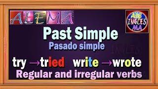 Pasado Simple En Ingles - Regular And Irregular Verbs – Reglas Lección # 25