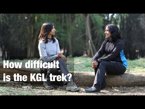 How difficult is the Kashmir Great Lakes trek?