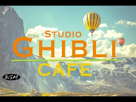 #GhibliJazz#Cafe Music  Relaxing Jazz & Bossa Nova Music  Studio Ghibli