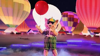 The Masked Singer 5 Finale   Piglet Sings Journey's Faithfully