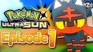 My New Best Friend! - Pokęmon Ultra Sun and Moon Gameplay - Episode 1