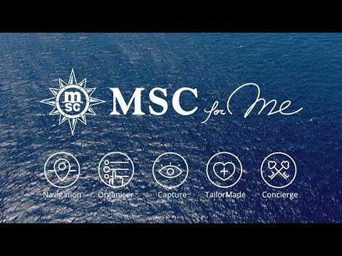 MSC for Me. Connect. Enjoy. Just be.