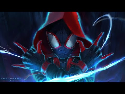 Alan Walker - On My Way Ft. Spider-Man Into The Spider-verse || HD