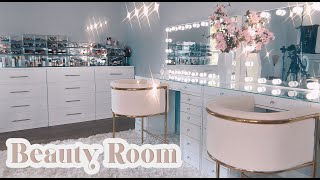 organizing my new beauty room (part 1)