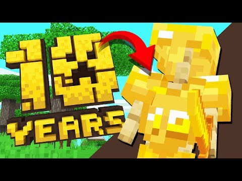 Minecraft's SPECIAL 10 Year Anniversary ARMOR...