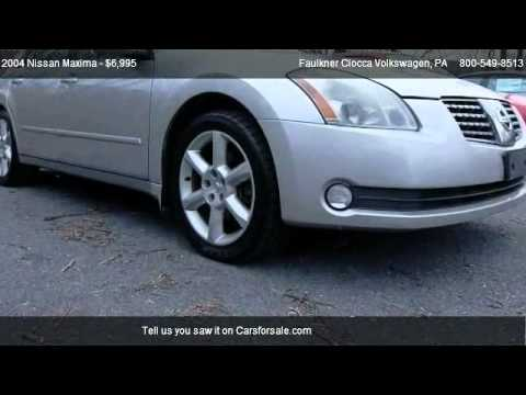 2004 Nissan Maxima SE - for sale in Allentown, PA 18103 - YouTube