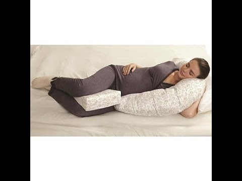 Babies R Us Pregnancy Pillow Review - YouTube