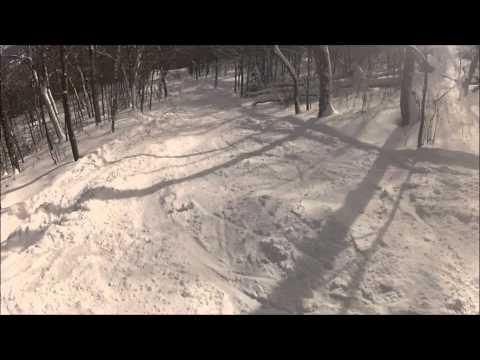 Mt. Greylock - Thunderbolt Trail Ski - 2014