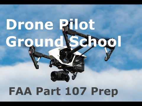 Drone Training Courses Online FAA Part 107 Study Guide