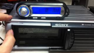 Caja de  discos Sony 10 CD´s MP3 Cd Changer