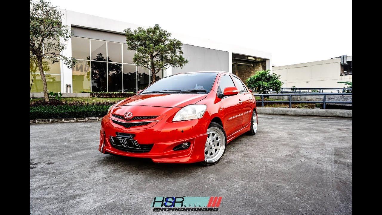 Modifikasi Toyota Vios Limo Menggunakan HSR Wheels YouTube
