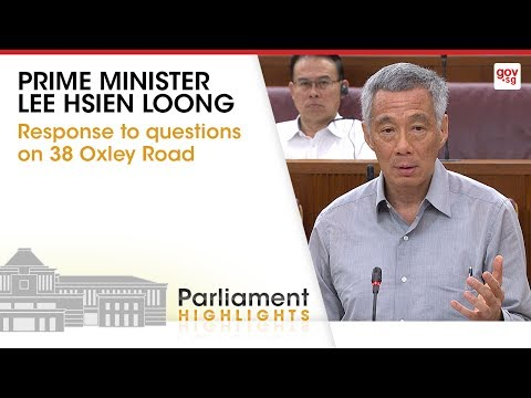 PM Lee's Closing Statement on 38 Oxley Road