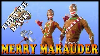"MERRY MARAUDER SKIN is BACK in FORTNITE - NEW ""BAREBONES LTM"" GAMEMODE // Playing With SUBS"