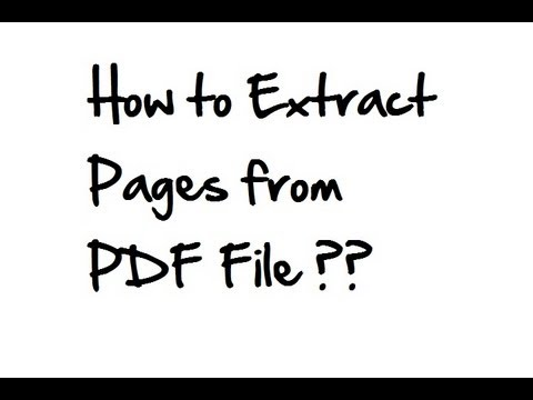 split pdf pages into separate files adobe reader xi