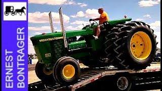 Lance Little and His 5020 John Deere Tractors