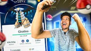 CONSEGUI MEU GIRATINA ! - Pokémon Go ‹ PORTUGA GAMES ›
