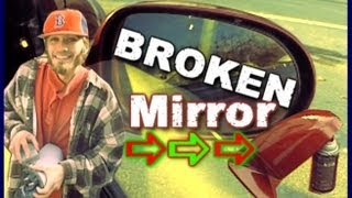 How To Replace A Broken Side View Mirror w/ Sister EXO