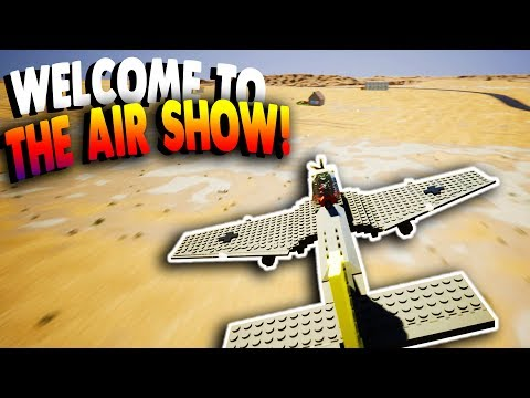 Brick Rigs Game | STUNT SHOW WITH AIRPLANES! | Lets Play Brick Rigs Gameplay & Online Multiplayer!