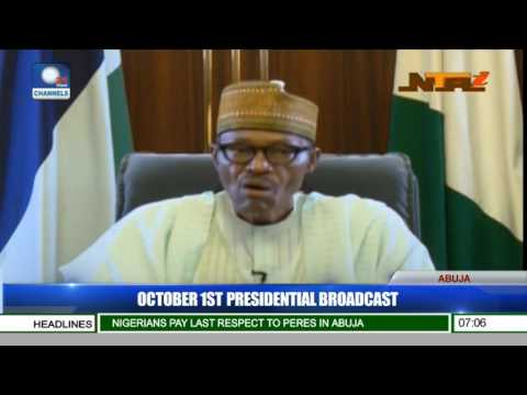 #NigeriaAt56: Address By President Muhammadu Buhari on Independence Day | WATCH