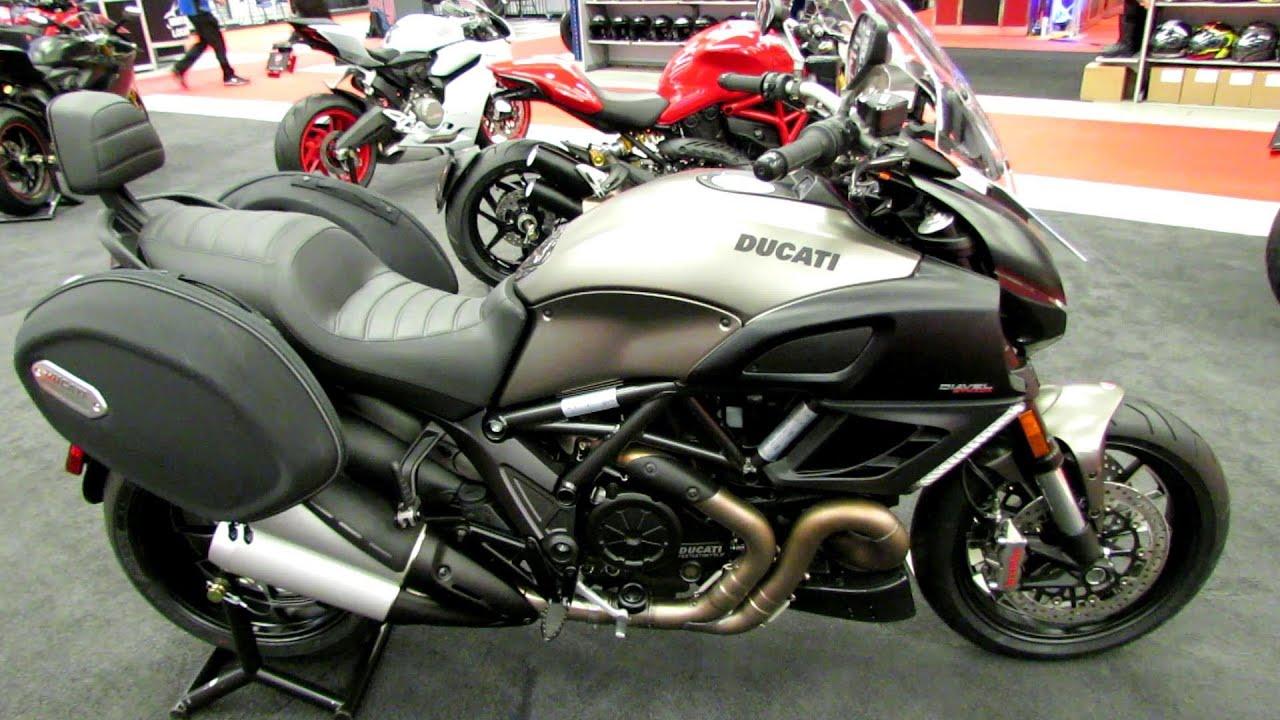 2014 ducati diavel strada walkaround - 2014 montreal motorcycle