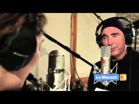 Lluís Llach i Estrella Morente canten  Vida  al disc de La Marató   Televisió de Catalunya