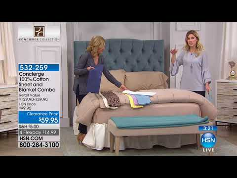 HSN | Healthy Home featuring Concierge Collection 01.24.2018 - 10 AM