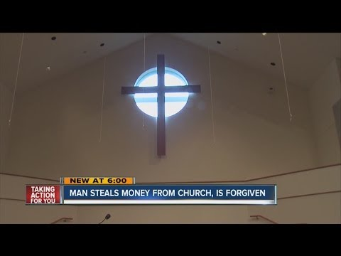 Church Forgives Unknown Man Who Stole Its Money
