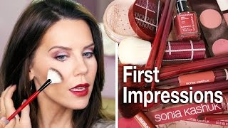 SONIA KASHUK | Makeup Tutorial & First Impressions