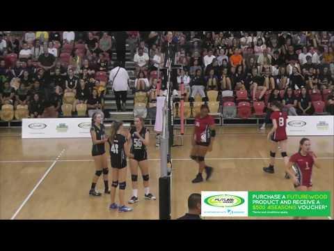 2018 NZSSVC Girls Final Westlake Girls High School vs Otumoetai College Girls