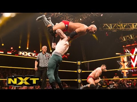 The Vaudevillains vs. Scott Dawson & Dash Wilder: WWE NXT, July 1, 2015