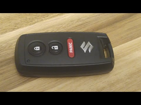 Suzuki Key Fob Battery Replacement – EASY DIY