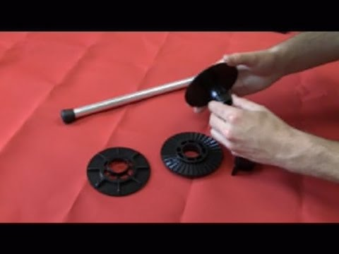 Boat Cover Support Poles How To Assemble Youtube