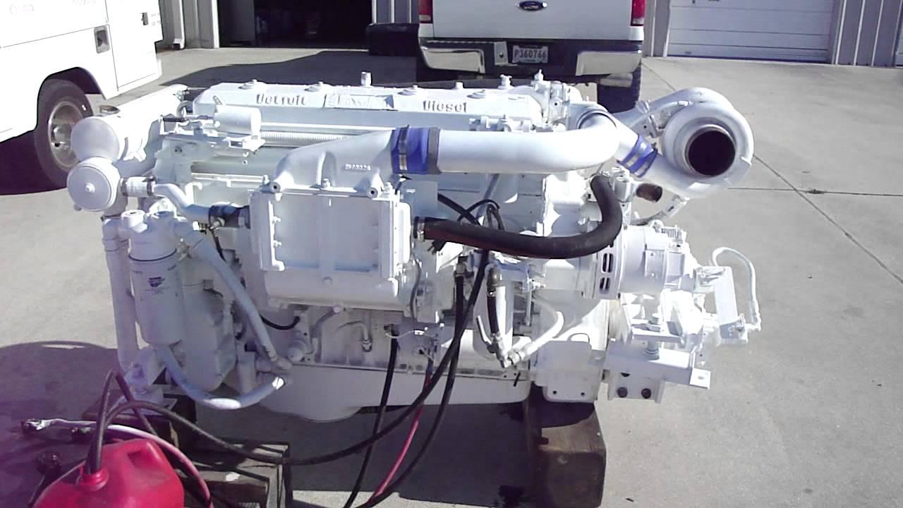 420HP  6 71 Detroit Diesel engine package with ge