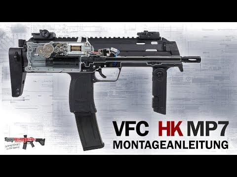 [Tech] VFC/Umarex HK MP7 A1 S-AEG Montage (Anleitung, Zusammenbauen, Assembling) 6mm Airsoft/Softair