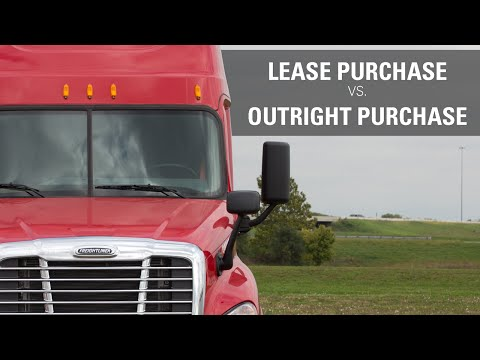 Lease Purchase vs. Outright Purchase programs