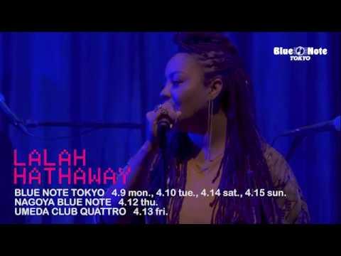 LALAH HATHAWAY @BLUE NOTE TOKYO (2018 4.9 mon.)