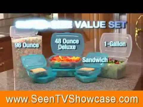 Mr Lid Food Storage Containers As Seen On Tv