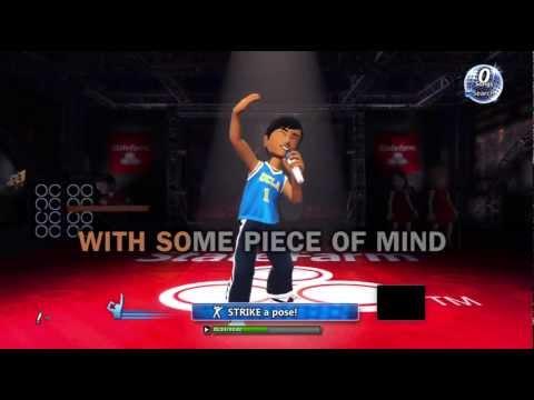 Karaoke for Xbox 360 Kinect 720P gameplay