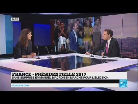France : Emmanuel Macron, en marche pour l'élection présidentielle