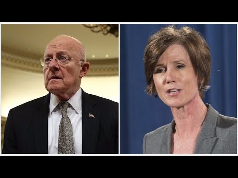 LIVE: Sally Yates and James Clapper Testify in Senate About Russian Interference