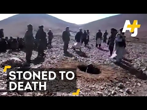 Afghan Woman Stoned To Death For Having A Fiancé