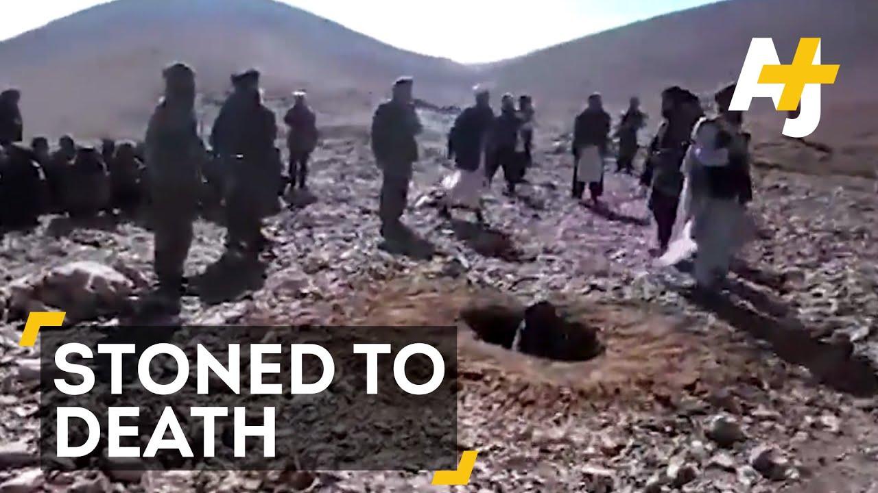 women stoning Muslim