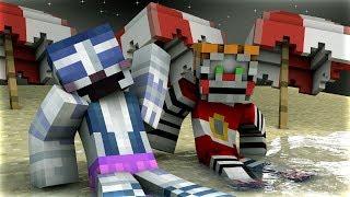 Minecraft Fnaf: Girls Night At The Beach (Minecraft Roleplay)